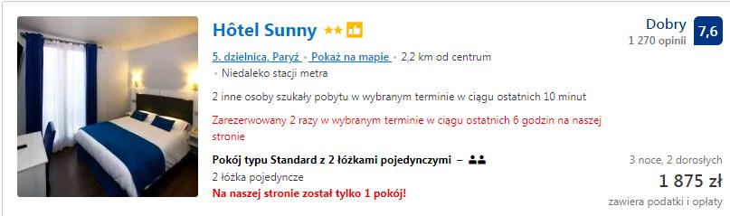 hotel sunny 1