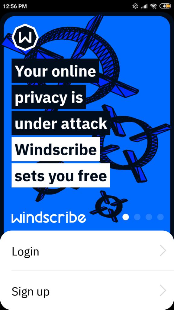 windscribe rejestracja