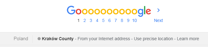 google lokalizacja